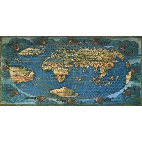Anatolian Puzzle Anatolian 1500 Parça Puzzle Dünya Haritası 1508 Renkli